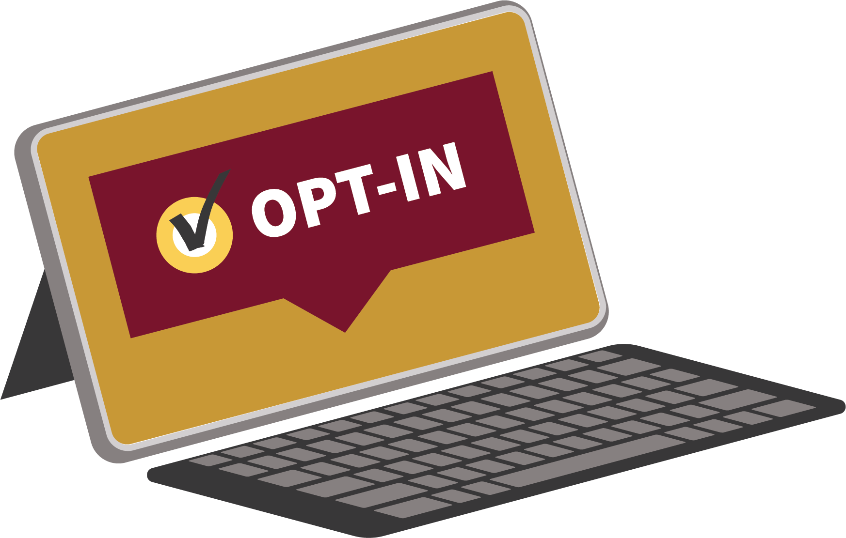 Computer Graphic For Opt In